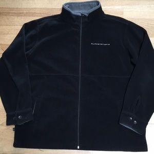 PlayStation 3 Black Fleece Zip Jacket Shirt L XL